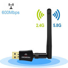amazon black friday dual band wireless router anewkodi ac600 dual band 2 4ghz 5ghz usb wifi adapter w 2dbi