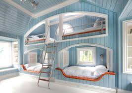 block board spray paint bunk bed girls bedroom ideas rectangle