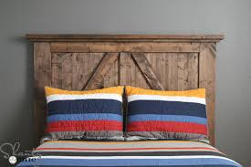 Inspiring DIY Rustic Headboard  Outstanding Diy Headboard Ideas - Ideas to spice up bedroom