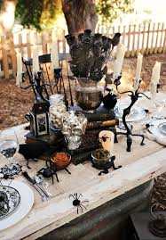 Pottery Barn Halloween Decorations Halloween Table Setting Door Decoration For Halloween Homemade