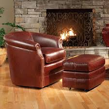 barrel chair with ottoman barrel chair wood smith brothers accent chairs and ottomans barrel