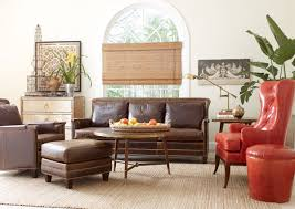 tufted leather chair and ottoman inspiring attractive living room chair designs 5 astounding
