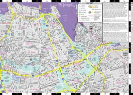 Bronx Map Streetwise Queens Map Laminated City Street Map Of Queens New