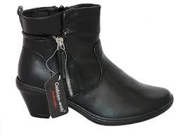 women s lightweight motorcycle boots cushion walk cushion walk women u0027s black faux leather cuban heel