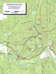 Rs07 World Map by Redding Spy Rock Loop Map Ozark Mountains Arkansas