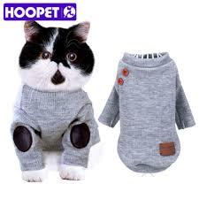 cat sweater hoopet pet coat jacket summer clothes puppy cat