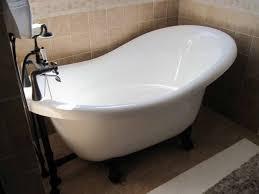 small bathroom with clawfoot tub nytexas