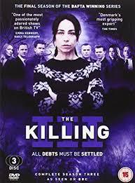 Seeking Season 3 Dvd The Killing All Debts Must Be Settled Complete Season Three Dvd