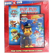 paw patrol book dvd animal stories works