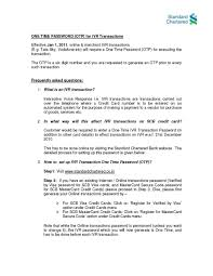 Standard Chartered Bank Otp Standard Chartered Bank 2017 2018 Studychacha