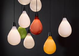 balloons shaped like light bulbs maarten baas adds balloon shaped pendants to lasvit range