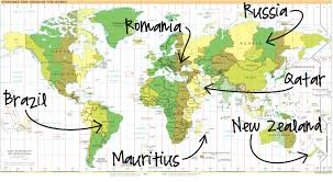 England On The World Map by My Blog Adventure 10 Weeks 10 300 Views 49 Countries Campclem