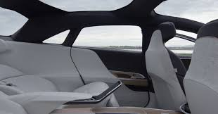 tesla inside roof lucid air apparently far more luxurious than tesla model s