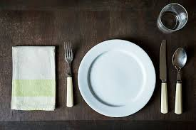 table setting how to set a table
