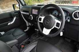new jeep wrangler interior 2014 jeep wrangler polar review video performancedrive
