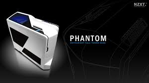 phantom white pc gaming case computer gaming case nzxt
