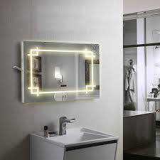 demister 168 led light mirror with bluetooth speaker modern