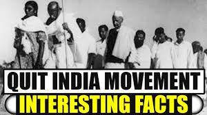 quit india movement country celebrates 75th anniversary
