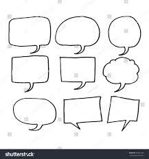 speech bubble hand drawn speech bubble hand drawn stock vector 658921762 shutterstock