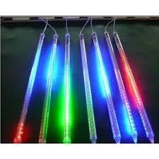 50cm 8 meteor shower lights waterproof string for