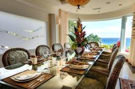 Tropical Dining Room Furniture Dining Table Tropical Dining Room Set Style Furniture Retreat