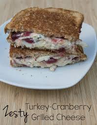 grill thanksgiving turkey zesty turkey cranberry grilled cheese thanksgiving leftovers