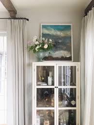 Hang Curtains Higher Than Window by An Update On My Dining Room Emily Henderson