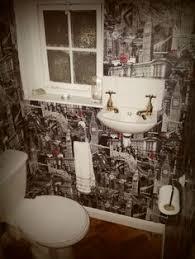 funky bathroom wallpaper ideas toilet wallpaper ideas search bathroom ideas