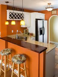 orange kitchen design decorating with warm rich colors hgtv orange walls and marble