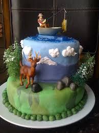 41 best fishing cakes images on pinterest fishing cakes