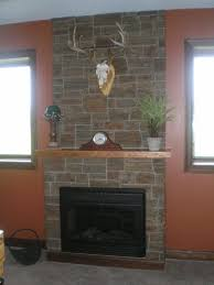 decorations stack stone fireplace diy ideas as wells as stack