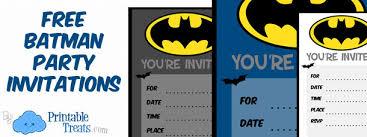 batman birthday invitations to print u2014 printable treats com