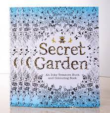 secret garden coloring book chile recenti secret garden coloring book un inky treasure hunt e