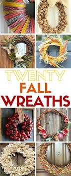 how to make wreaths how to make 20 easy wreaths for fall the crafty stalker