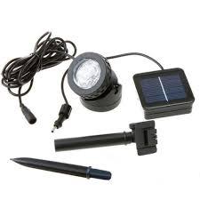Solar Lights For Ponds amazon com fuloon waterproof 6 led solar powered led spotlight