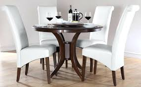 dark wood dining room set round tables table sets chairs