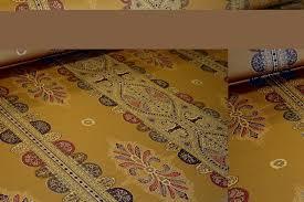 folia ralph lauren design norwich stripe color gold sale fabric