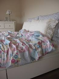 duvet cover romantic shabby chic bedding girls dorm room pink