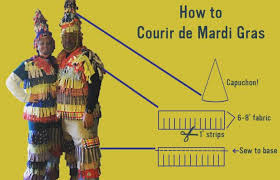 traditional cajun mardi gras costumes timer s guide to courir de mardi gras