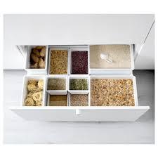 Dry Food Containers Storage Tillsluta Dry Food Jar With Lid Ikea