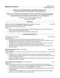 Computer Science Sample Resume by Sample Resume For College Student Seeking Internship Templates