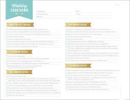 free wedding planning printables u0026 checklists