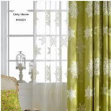 apricot cotton curtain linen fabrics entrance door curtain