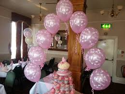 balloon decorations for christenings christening balloon decor