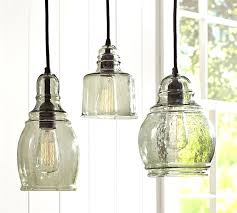 Colored Glass Pendant Lights Glass For Pendant Lights With Paxton Single Pendants Pottery Barn
