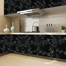 selbstklebende folie k che kinlo tapeten küche grau 61x500cm aus hochwertigem pvc klebefolie