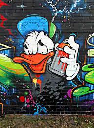 graffiti cartoon characters donald duck pearltrees