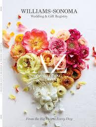 popular wedding gift registries ecatalog williams sonoma