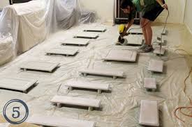 tips for spray painting kitchen cabinets the best tutorials for spray painting cabinets painting