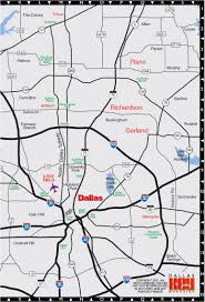 Dallas Map by Key Dallas City Map